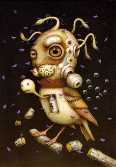 Pop surealism tattoo, Naoto Hattori | Tags: acrylic , Art , japan , pop surrealism