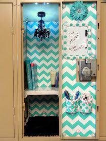 Image of: blue diy locker decorations girls locker ideas, cute locker ideas, locker Girls Locker Ideas, Cute Locker Ideas, Diy Locker, Locker Stuff, Cute Locker Decorations, Middle School Lockers, School Locker Organization, Locker Lookz, Locker Designs