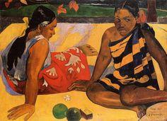 ¿Qué hay de nuevo? - Paul Gauguin