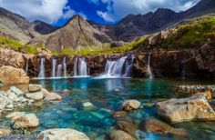 The Fairy Pools on the Isle of Skye – Scotland