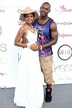 Eva Pigford and Kevin McCall