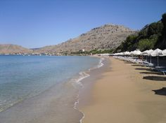 beautiful pefkos beach.. Rhodes