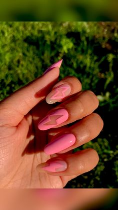 Almond Acrylic Nails, Best Acrylic Nails, Picasso Nails, Gel Nails, Nail Polish, Seasonal Nails, Nails Only, Nail Candy, Nail Art Designs