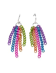 Colorful Chain Earrings | Earrings | Jewelry | Shop Justice