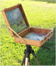 Make your own Quick Plein Air Painting Kit - Malcolm Dewey Fine Art