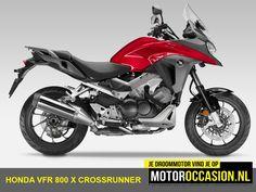 Honda Motor Europe kondigt vandaag de nieuwe 2015 VFR800X Crossrunner aan.