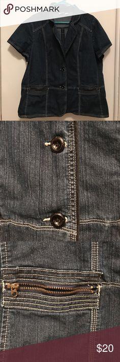 Denim shirt/ jean jacket Denim shirt with pockets Cato Jackets & Coats Jean Jackets