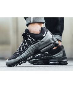 pretty nice de8ff 058cc Nike Air Max 95 Ultra SE Black Grey White Shoes Air Max 95, Cheap Nike
