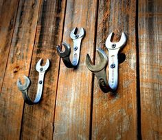 Bent Wrench Hooks