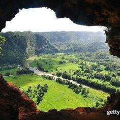 Follow along with our ➡️ #InstagramStory and discover hidden gems in what may become the 51st state. #PuertoRico #TravelTuesday  _  A stunning view from #CuevaVentana, Puerto Rico.   📷:Leopoldo Colon  #GettyImagesCreative