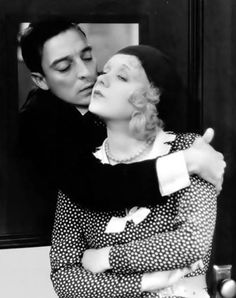 "Buster Keaton & Anita Page in ""Sidewalks of New York"" (1931)."