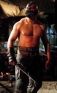 bane tom hardy shirtless