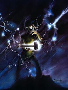 Bill Sienkiewicz - Loki