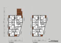 Plattegrond 5e en 6e verdieping Floor Plans, Diagram, Floor Plan Drawing, House Floor Plans