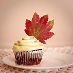 fall cupcake