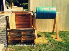 How To Build A Compost Bin From Pallets