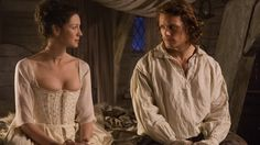 39 of the Sexiest (Borderline NSFW) Moments From Outlander Outlander Wedding, Lord John, Outlander Season 1, Whole Lotta Love, Jamie And Claire, Jamie Fraser, Wedding Night, Movies Showing, Fiction