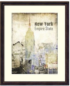 Add edgy style to your decor with this New York Grunge II framed wall art. <ul> <li>Distressed design</li> <li>Artist: Irena Orlov PRODUCT DETAILS</li> <li>21.63''H x 17.63''W x 1.125''D</li> <li>Wood, paper, acrylic</li> <li>Vertical display</li> <li>Hanging wire</li> <li>Wipe clean</li> <li>Model no. DSW3315784</li> </ul>