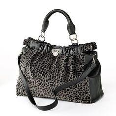 Jennifer Lopez Denise Faux-Fur Leopard Satchel Clutch Purse, Purse Wallet,  Jennifer Lopez d348a38884