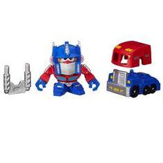 Boneco Mr. Potato Head Hasbro Mash Ups Transformes Optimus Prime
