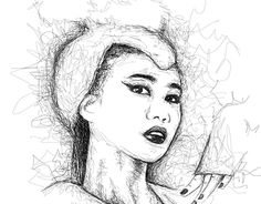 """Check out new work on my @Behance portfolio: """"Scribble Art"""" http://be.net/gallery/55088101/Scribble-Art"""