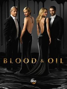 Blood And Oil Poster Standup 4inx6in