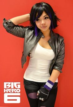 Character: Gogo Series: Big Hero 6