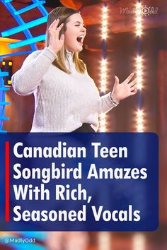 """Lauren Spencer Smith from Vancouver Island, Canada, arrives to audition for American Idol. The teen songbird went with """"What About Us"""" from P!nk. Claiming the song as her own, the singer impressed with amazing power and control. If you listen to her voice alone, you'd never guess her age. #AmericanIdol #TalentShow #Singing #TVShows"""