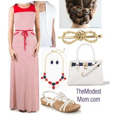 Fireworks - The Modest Mom outfits