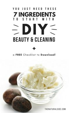 Ditch Chemical Products and Save Money with Your Own DIY Beauty & DIY Cleaning Products. For this, You just need these 7 basic Ingredients to Start with DIY. Skin Care Routine Steps, Skin Care Tips, Best Natural Skin Care, Natural Health, Diy Beauty, Beauty Secrets, Beauty Products, Beauty Tricks, Beauty Care