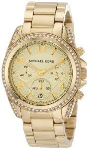Amazon.com: Michael Kors Golden Runway Watch with Glitz MK5166: Michael Kors: Watches