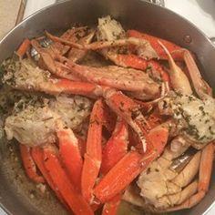 Crab Legs with Garlic Butter Sauce Photos - Allrecipes.com