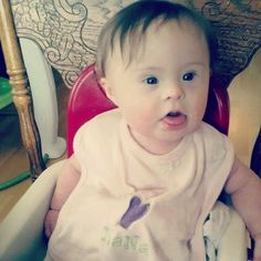 Cutest baby in MY world! Down syndrome awareness <3
