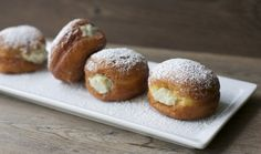 Berliners, a classic Chilean pastry