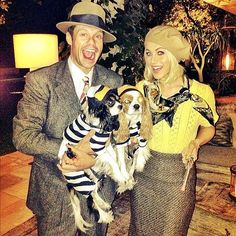 Halloween Couples Costume Ideas: Bonnie and Clyde