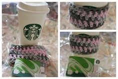 Easy crochet coffee sleeve tutorial