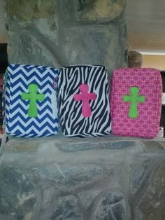 Bible covers.. I told you Simply Southern would have them!!
