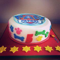 torta di compleanno Paw Patrol
