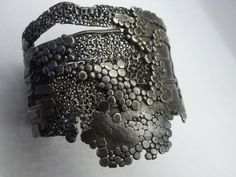 Gorgeous cuff bracelet from sculptor Darcy Miro