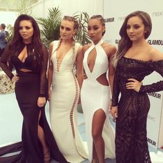 Little Mix on the red carpet at the GlamourAwards