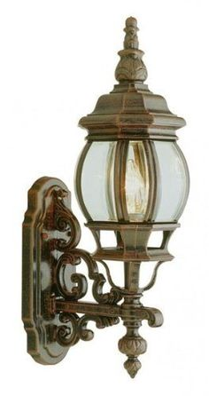 Trans Globe 4050 RT Outdoor Sconce by Trans Globe. $55.67. Finish:Rust, Glass:Beveled, Light Bulb:(1)100w A19 Med C Incand  Upgrade your outdoor environment with this ultra-popular fixture inspired by Victorian art.. Save 38% Off!