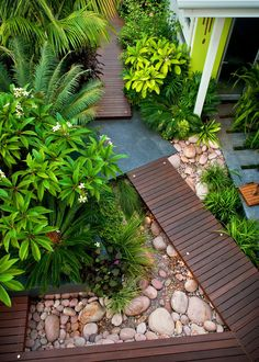 7 New Ways to Landscape Your Yard Landscaping your yard is a good way to enhance the visual appeal together with the value of your house. In that situation it will become difficult to select the landscape. A great landscape… Continue Reading → River Rock Landscaping, Tropical Landscaping, Landscaping With Rocks, Modern Landscaping, Front Yard Landscaping, Landscaping Ideas, Tropical Gardens, Tropical Garden Design, Backyard Ideas