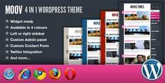 Moov - 4 in 1 Wordpress Theme