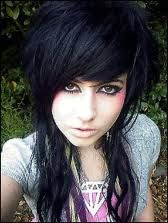 emo hairstyles for girls with long hair - Google Search