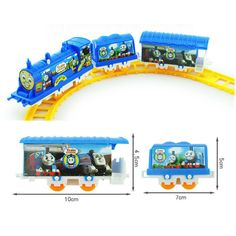 Funny Electric Train Toys And Friends Railway Track Train Diecasts & Toy Vehicles Intelligent Toy Car Gift Toys For Children