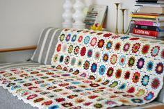 I will make a blanket like this one day! :)