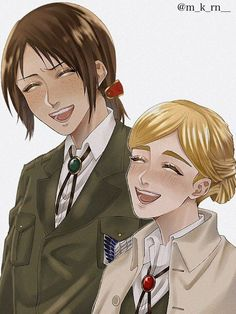 Eren X Mikasa, Levi X Eren, Armin, Anime Girlxgirl, Fanarts Anime, Anime Art, Attack On Titan Ships, Attack On Titan Fanart, Haikyuu