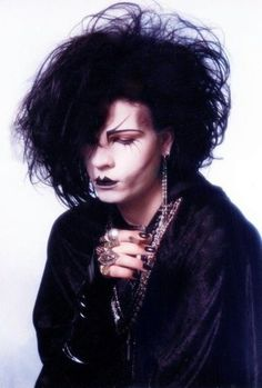 What Goth Originally Looked Like ... Azmo