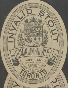 Invalid Stout by Thomas Fisher Rare Book Library, via Flickr