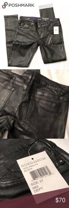 NWT VIGOSS black coated jagger super skinny pants VIGOSS the jagger super skinny black coated pants. NWT Vigoss Pants Skinny